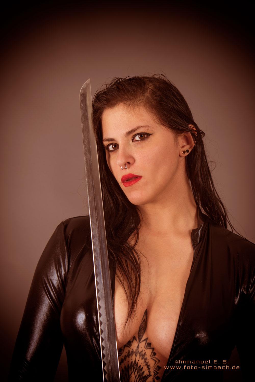 Bianca mit Schwert